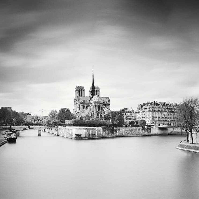 Notre Dame Study #2, Paris, France 2017 - No.: 11829  Toned gelatin silver print, hand signed, dated and numbered 40x40cm, edition of 60x60cm, edition of 9 80x80cm, edition of 7 100x100cm, edition of 5