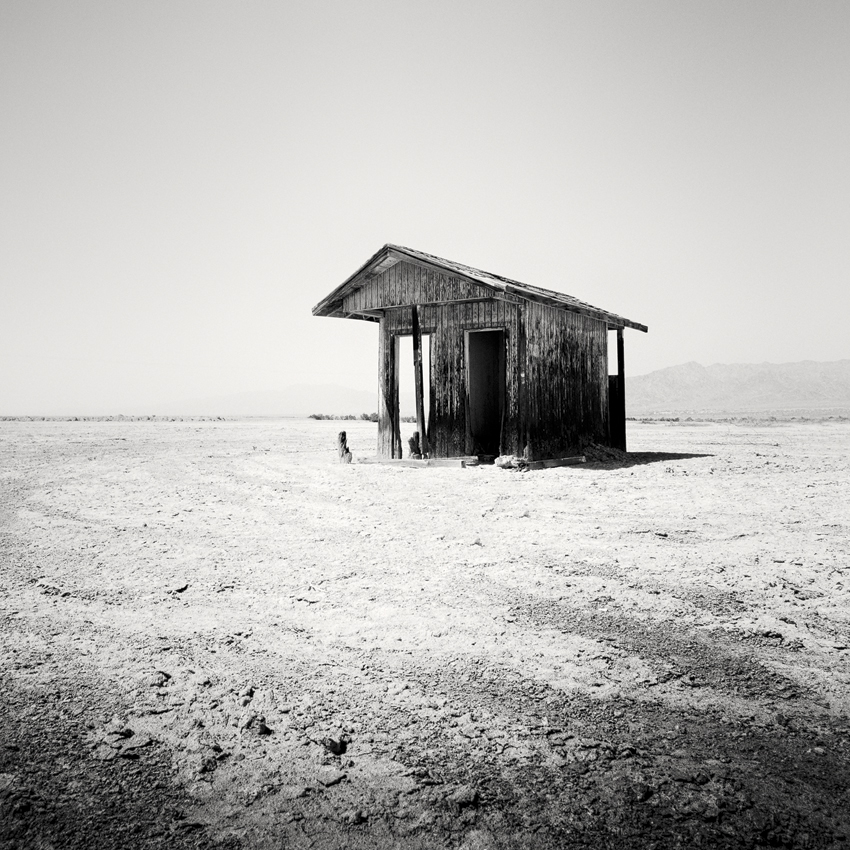 Bath House, CA, USA 2015 - No.: 11619  Toned gelatin silver print, hand signed, dated and numbered 40x40cm, edition of 9 60x60cm, edition of 9 80x80cm, edition of 7 100x100cm, edition of 5