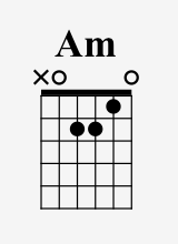 The X symbol means not to play that string.