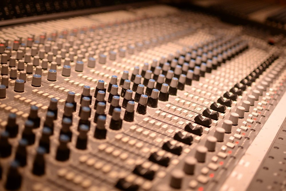 SSL Mixing Desk