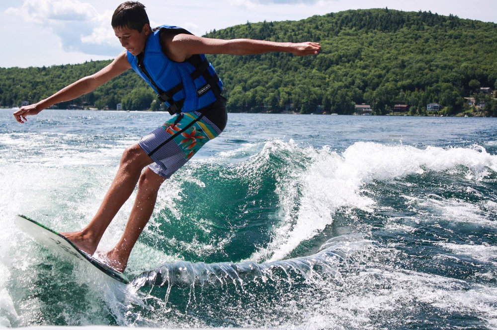 Wakesurf Lessons New Hampshire