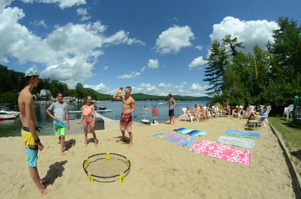 Summer Camp Beach New Hampshire