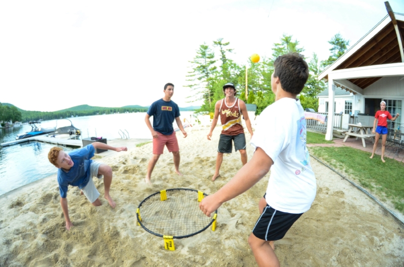 Spikeball beach kids summer camp