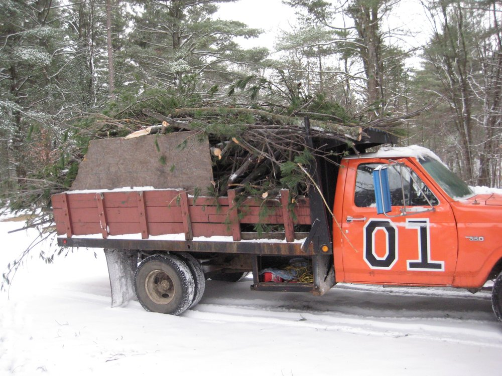 The dump truck at the summer camp I used to run from 2008 through 2010.