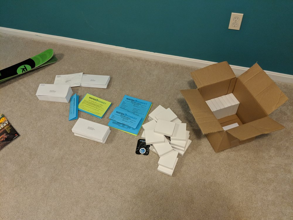 Envelopes and forms and gifts galore!