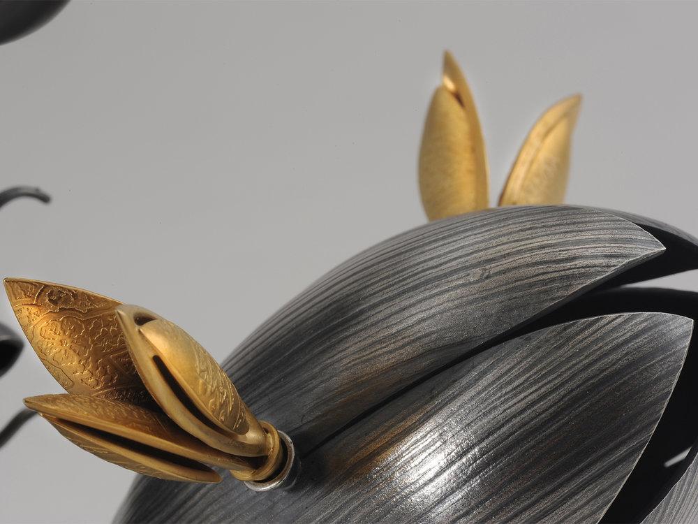 Blossfeldt Candelabrum - detail