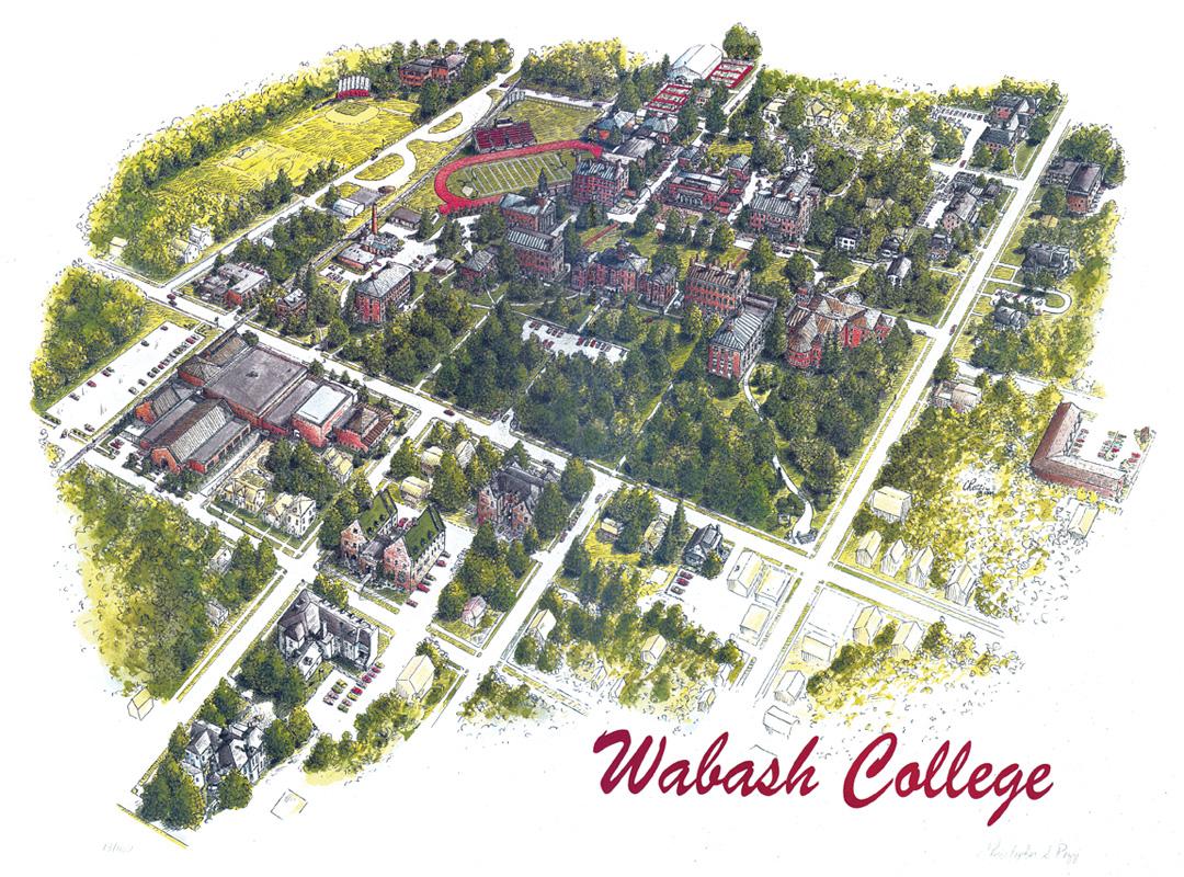 Wabash College Campus Map.Large Maps Studiorozzi