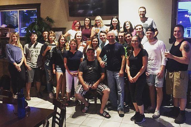 From all of us here at Étienne Brûlé, thank you all for an incredible summer! Cheers! #etiennebrulecrew #613beer #microbrewery // De la part de toute l'équipe Étienne Brûlé, merci à vous tous pour un été incroyable! Santé! #brasserielocale #etiennebrule #613local