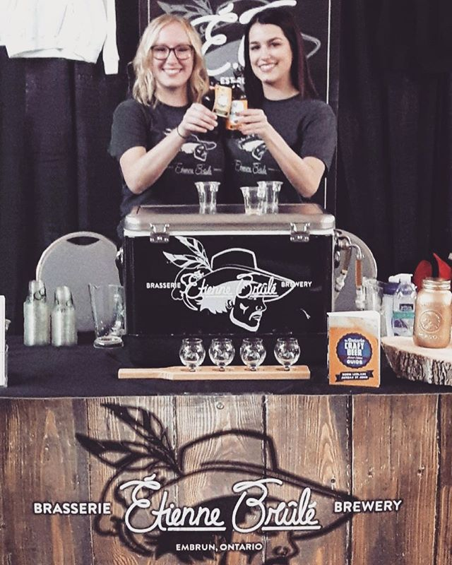 We're at the Local Flavours Rendez-Vous in Embrun, come say hi! // On est au Rendez-vous des saveurs locales à Embrun, venez nous dire allô! #bierelocale #613beer #embrun #localflavours #saveurslocales #prescottrussell #prescottrusselltourism
