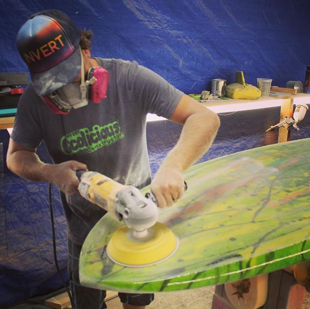 We love what we do!  Building better boards.  #handmade #madeinusa #boardbuilder #custombuilt #paddlesurf #invertsup