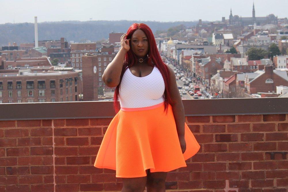 DC Plus Size Blogger