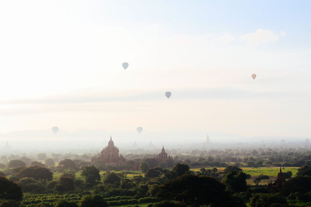 Don't get me wrong... Bagan is still stunning. Credit: Chinh Le Duc, Unsplash