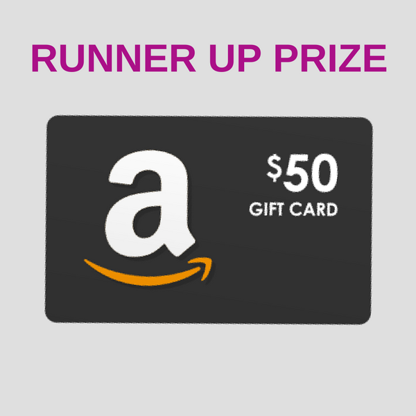 WIN A $50 AMAZON GIFT CARD!
