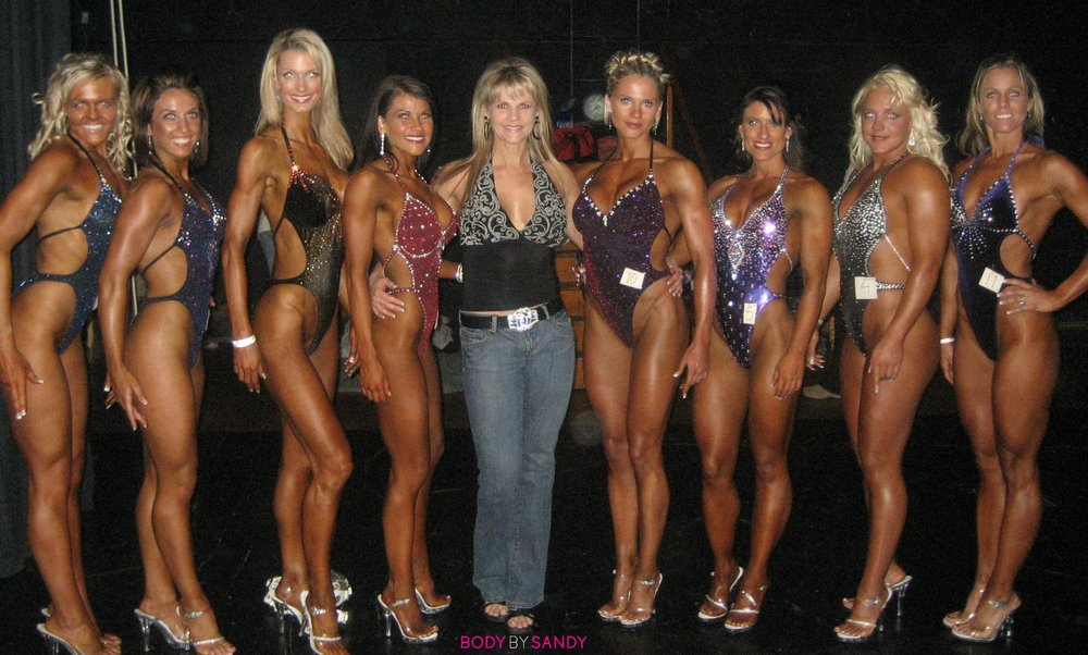 2007 NPC Utah Classic-All My Girls backstage.jpg