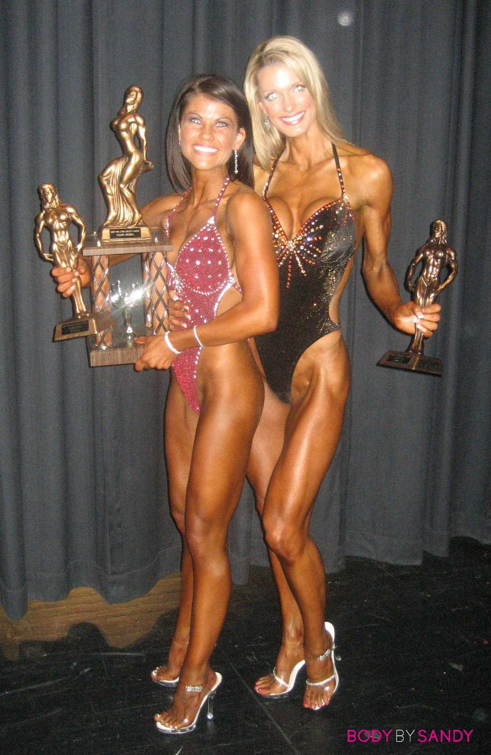 2007 NPC Utah Classic-Tiara & Liz with trophies4.jpg