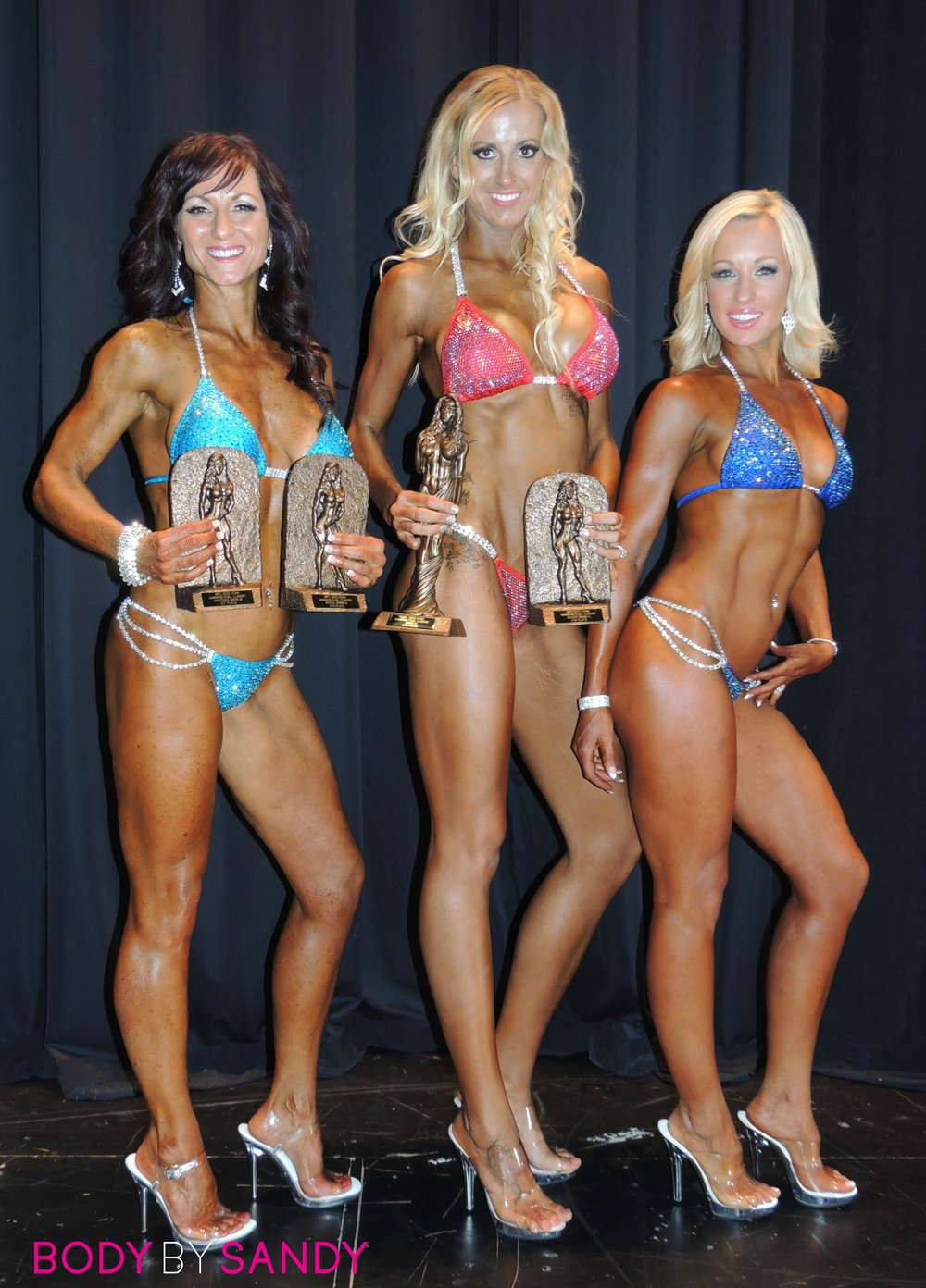 2015 NPC Warrior Classic-The girls with trophies.jpg