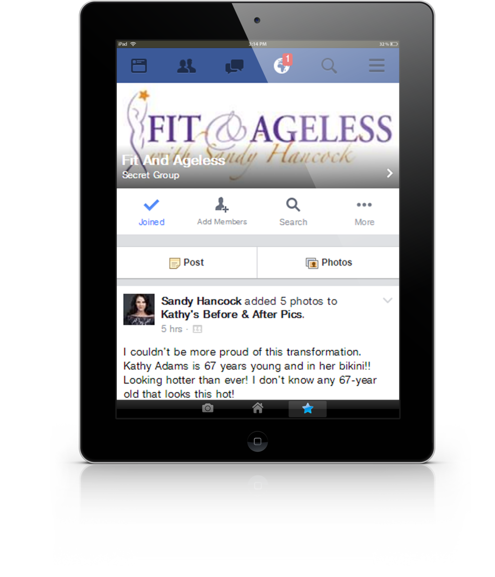 Fit & Ageless Facebook Group