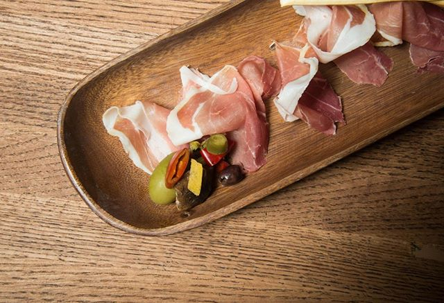 Prosciutto anyone? - Enjoy a Monday like it should be enjoyed. #foodie #yum #bse #prosciutto #nyc #newyorkcity #eats #BrokenSpokeEatery #goodmorning