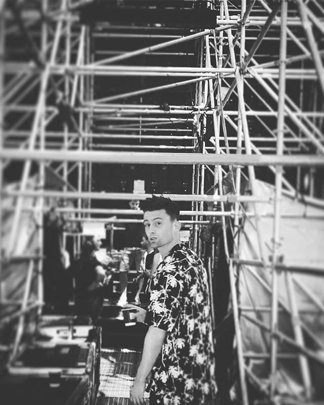 Behind the scenes swag