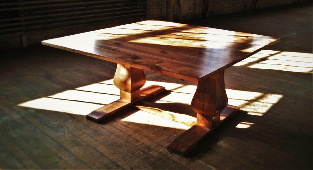 Foley Table   As shown $3,500  Walnut