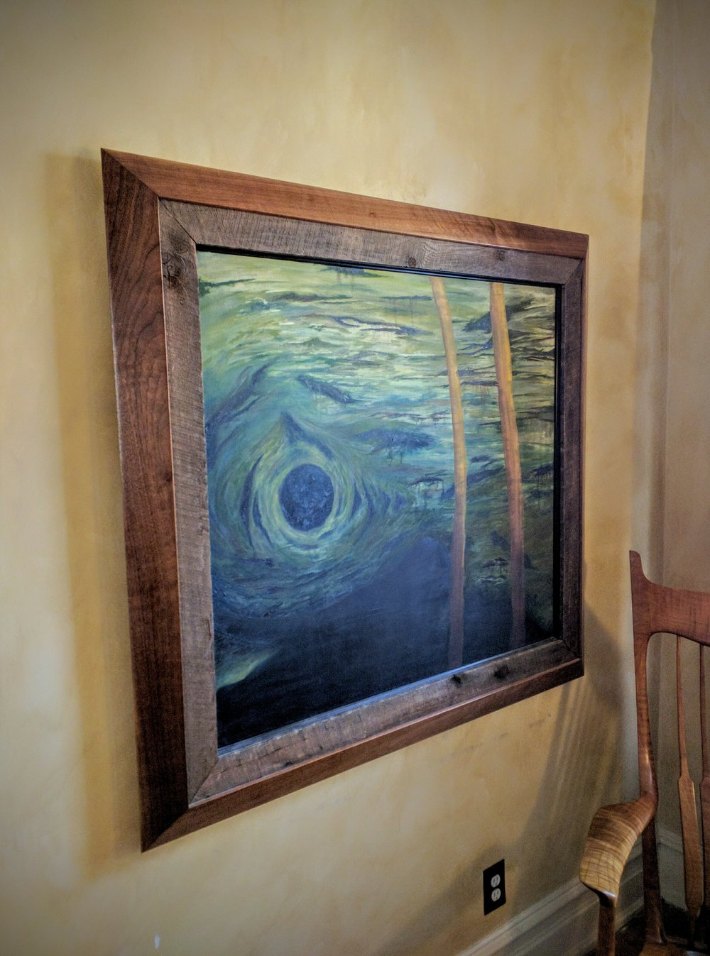 Rustic Frame    $1,500   Shown in Walnut and Reclaimed Spruce