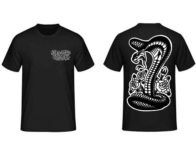 PRE ORDERS ARE LIVE NOW UNTIL NOON TOMORROW for our LIMITED RUN shirts. Check the post on the @pastimetattoo page for all the info.