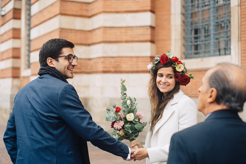 Ana And Yy S Civil Wedding In Toulouse Standesamtliche Hochzeit In