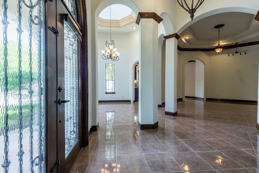 large foyer