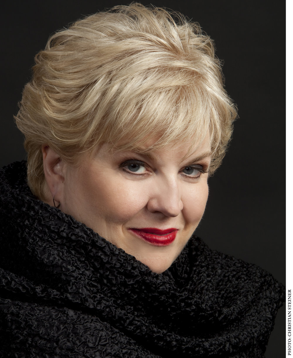 Christine Brewer, American Grammy Award-winning soprano