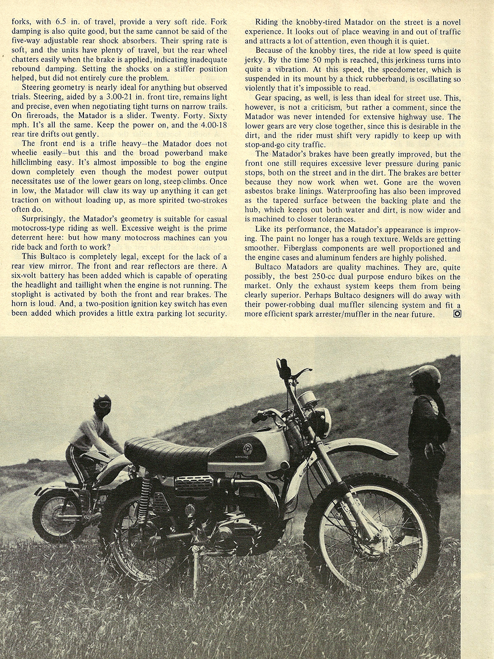 1971 Bultaco Matador 250 road test 03.jpg
