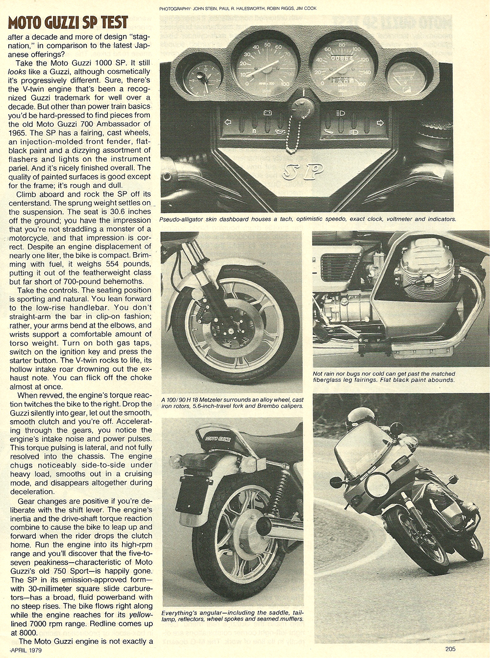 1979 Moto Guzzi 1000 SP road test 04.jpg