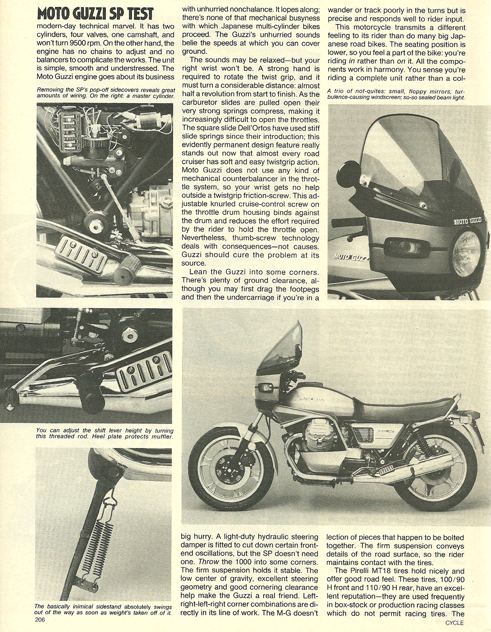 1979 Moto Guzzi 1000 SP road test 05.jpg