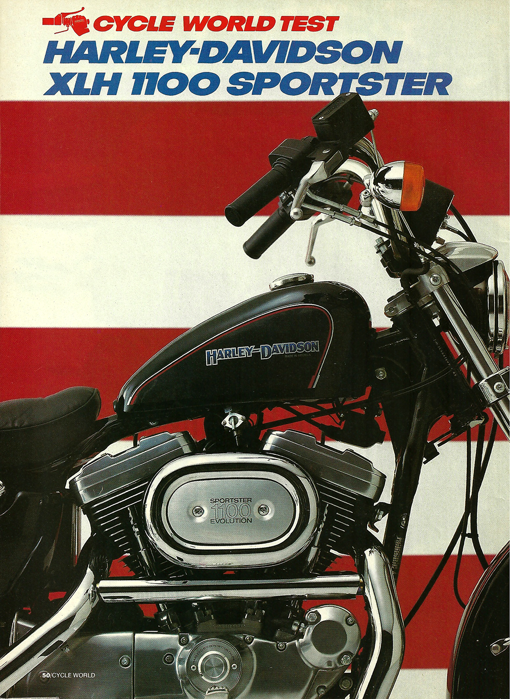 1985 Harley Davidson XLH 1100 Sportster road test 01.jpg