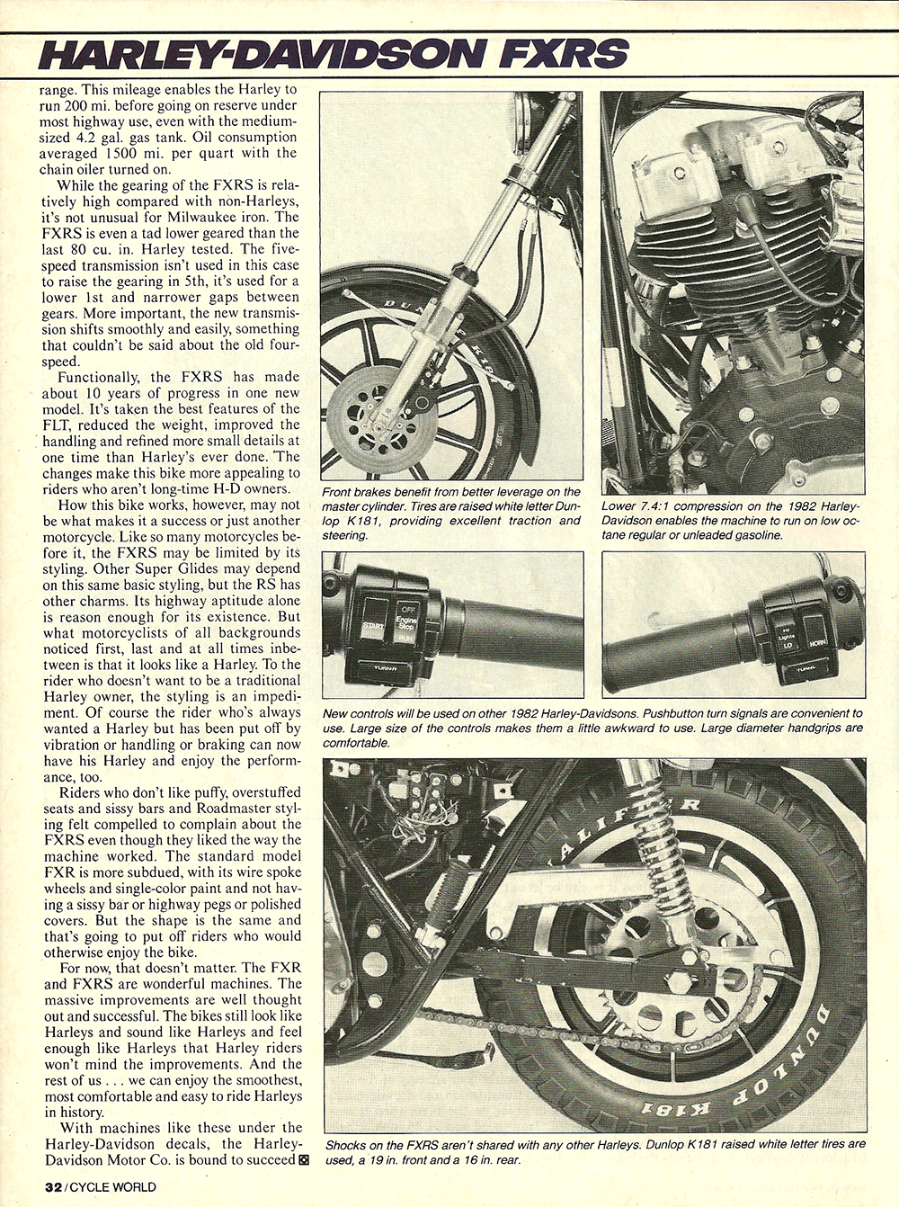1981 Harley-Davidson FXRS road test 5.jpg