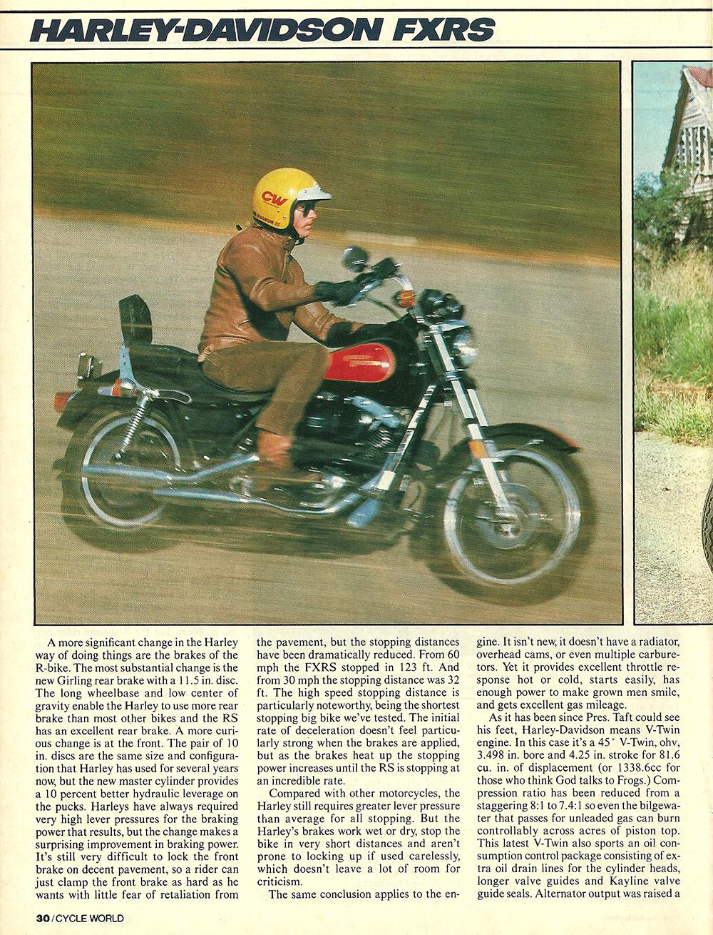 1981 Harley-Davidson FXRS road test 3.jpg