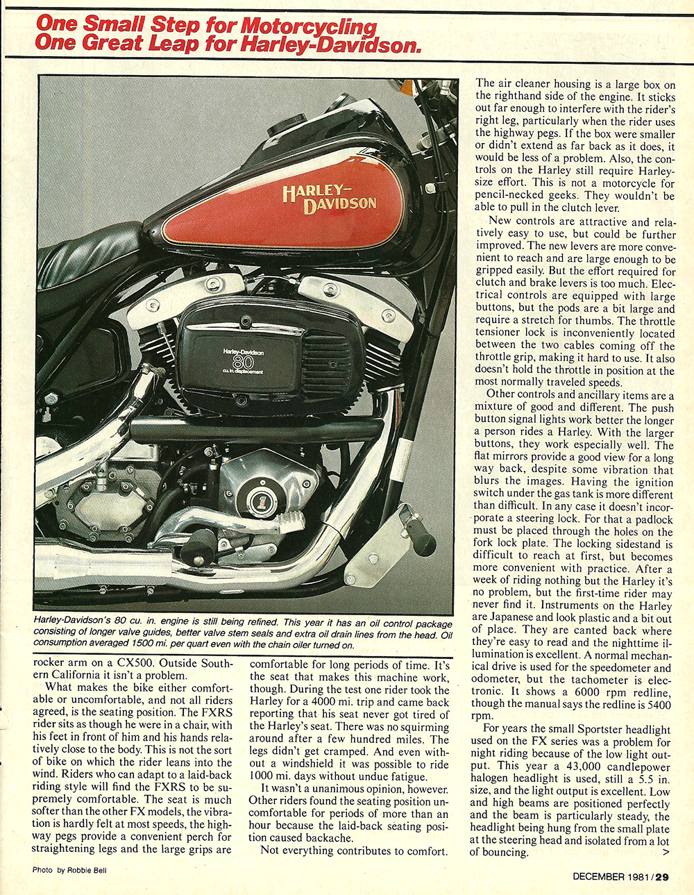 1981 Harley-Davidson FXRS road test 2.jpg