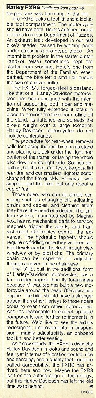 1982 Harley-Davidson FXRS road test 10.jpg