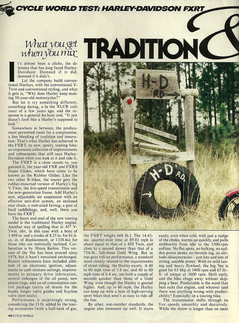 1983 Harley-Davidson FXRT road test 01.jpg