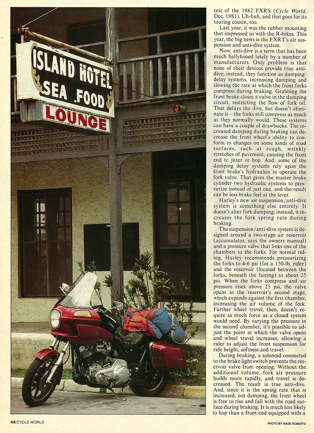 1983 Harley-Davidson FXRT road test 03.jpg