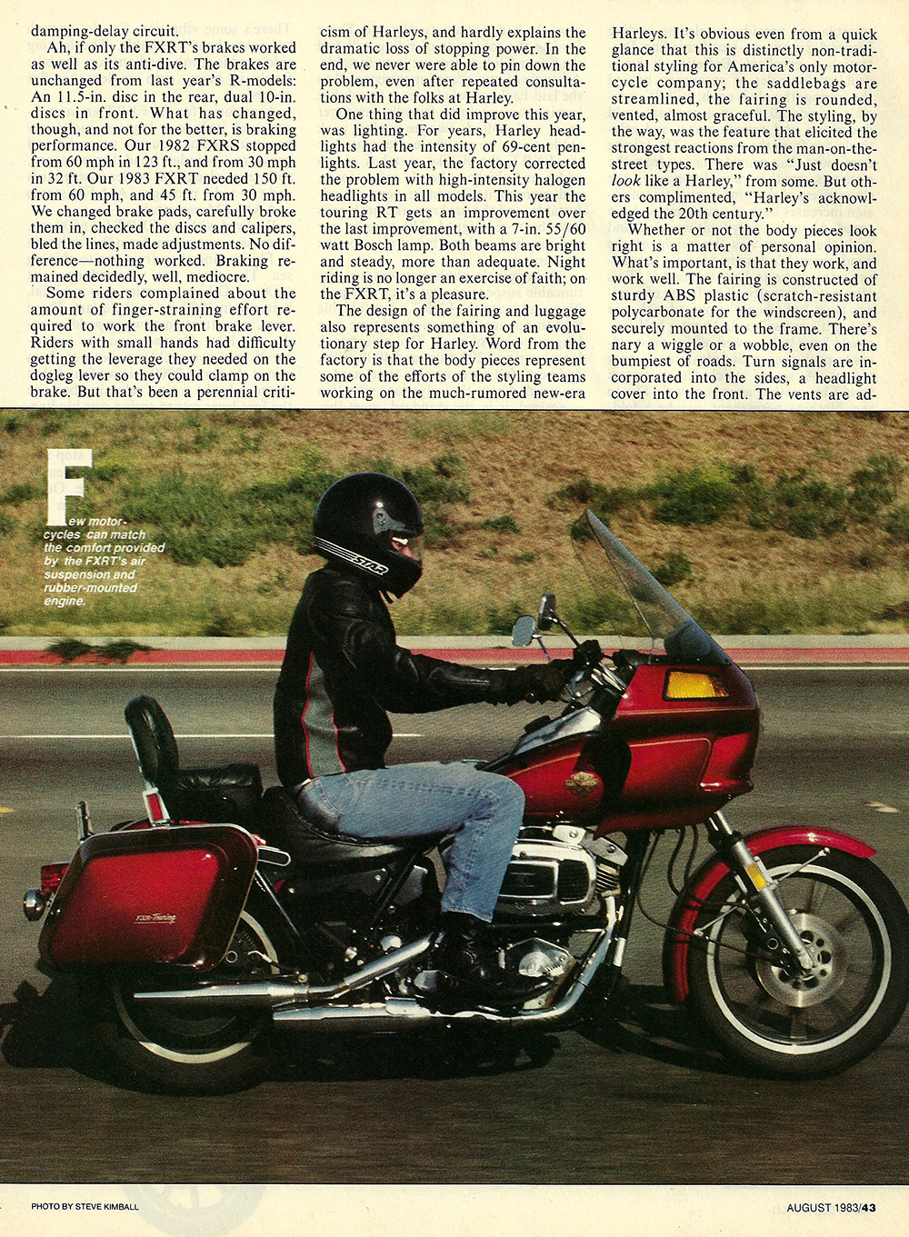 1983 Harley-Davidson FXRT road test 04.jpg