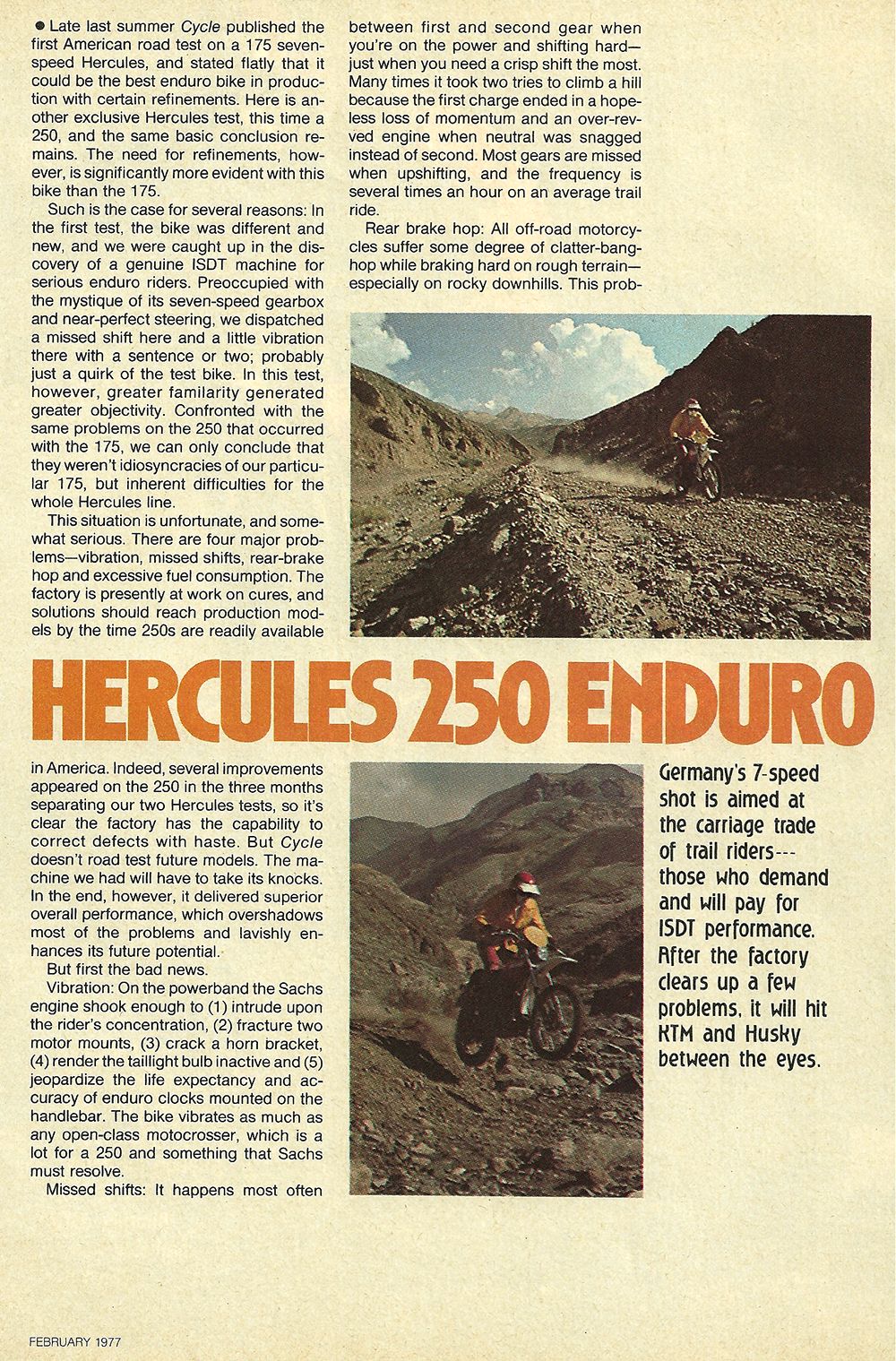 1977 Hercules 250 Enduro road test 2.jpg