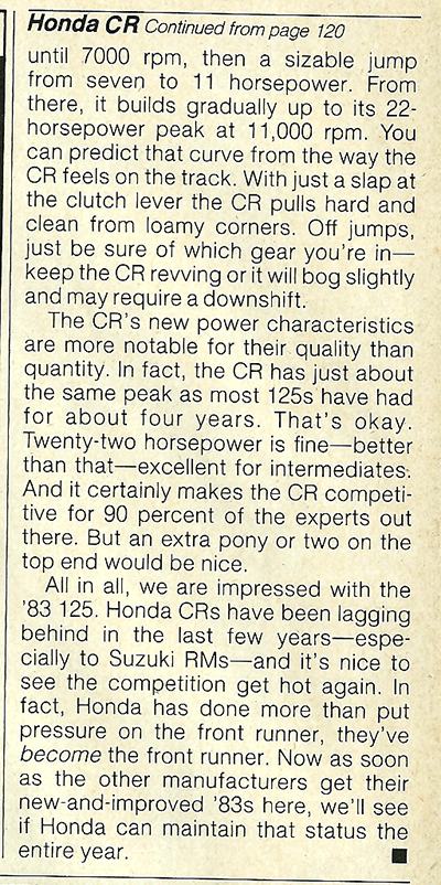 1983 Honda CR125R road test 8.jpg