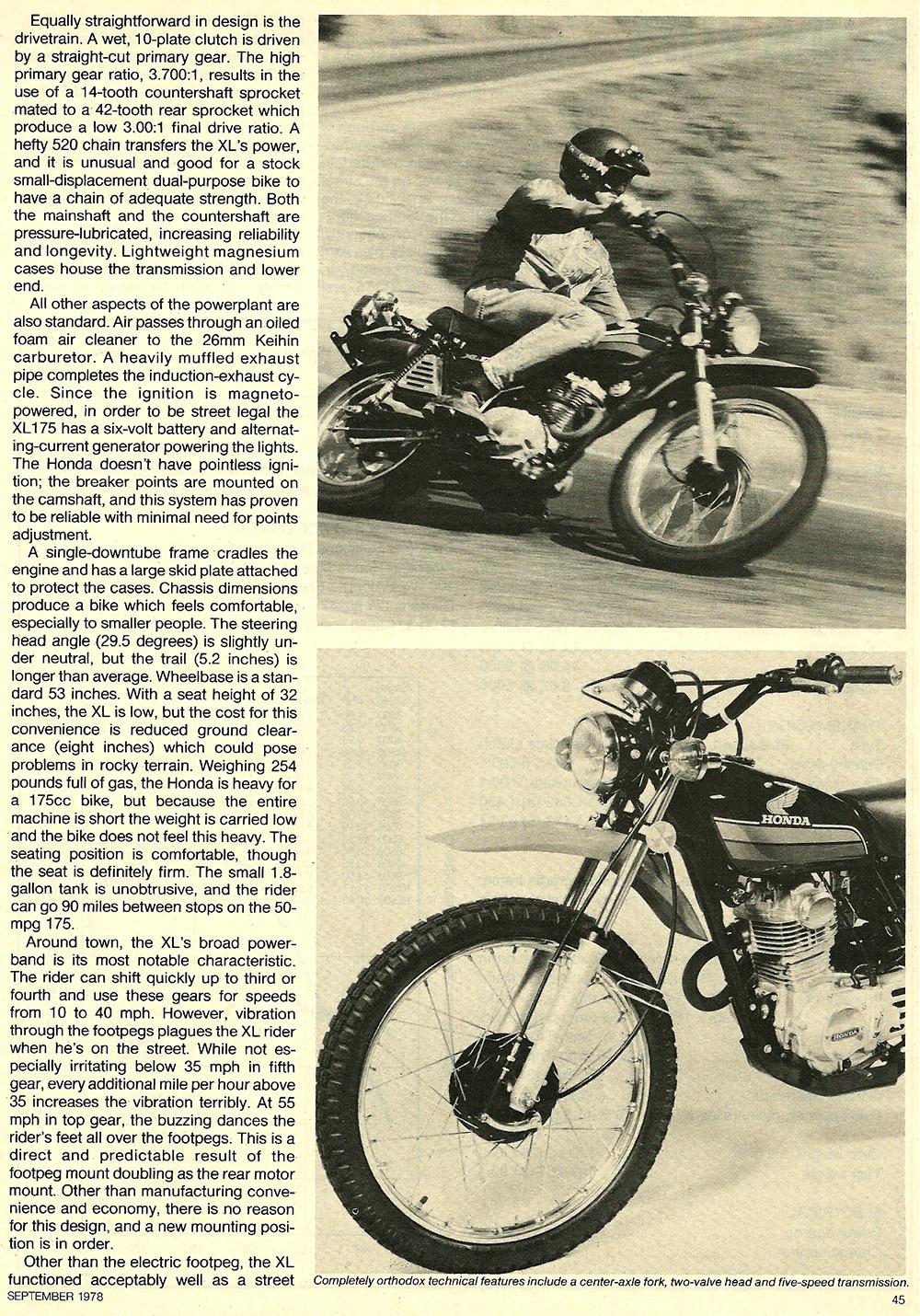 1978 Honda XL175 road test 03.jpg