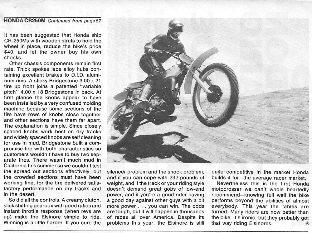 1975 Honda CR250M road test 6.png