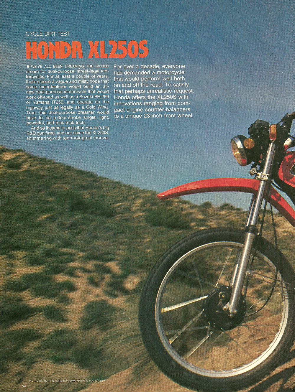 1978 Honda XL250S road test 01.jpg