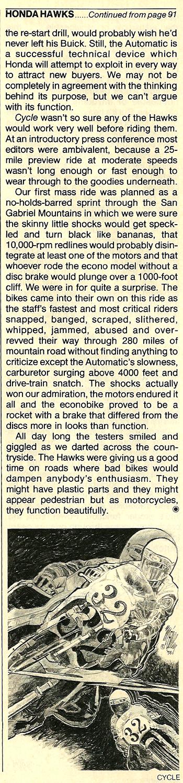 1977 Honda 400 Hawk road test 13.jpg