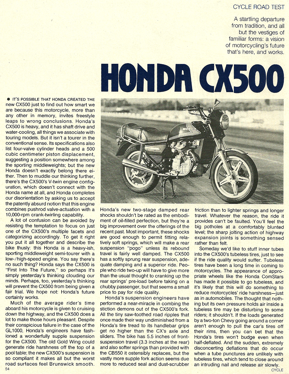 1978 Honda CX500 road test 01.jpg