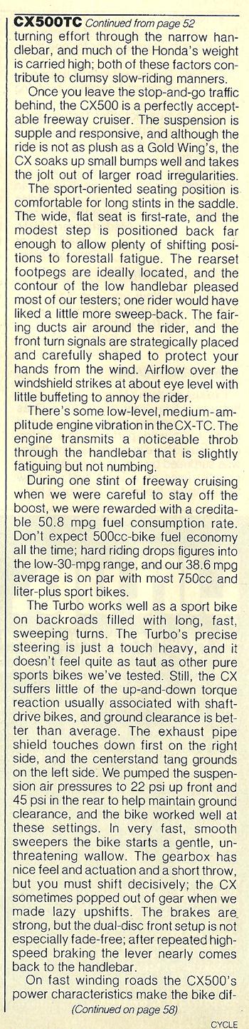 1982 Honda CX500TC Turbo road test 08.jpg