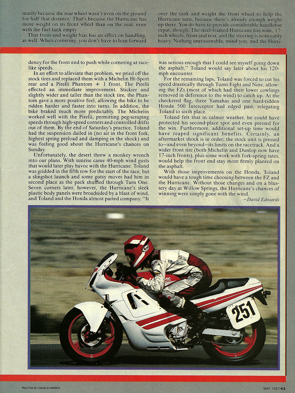 1987 Honda CBR600F Hurricane road test 06.jpg