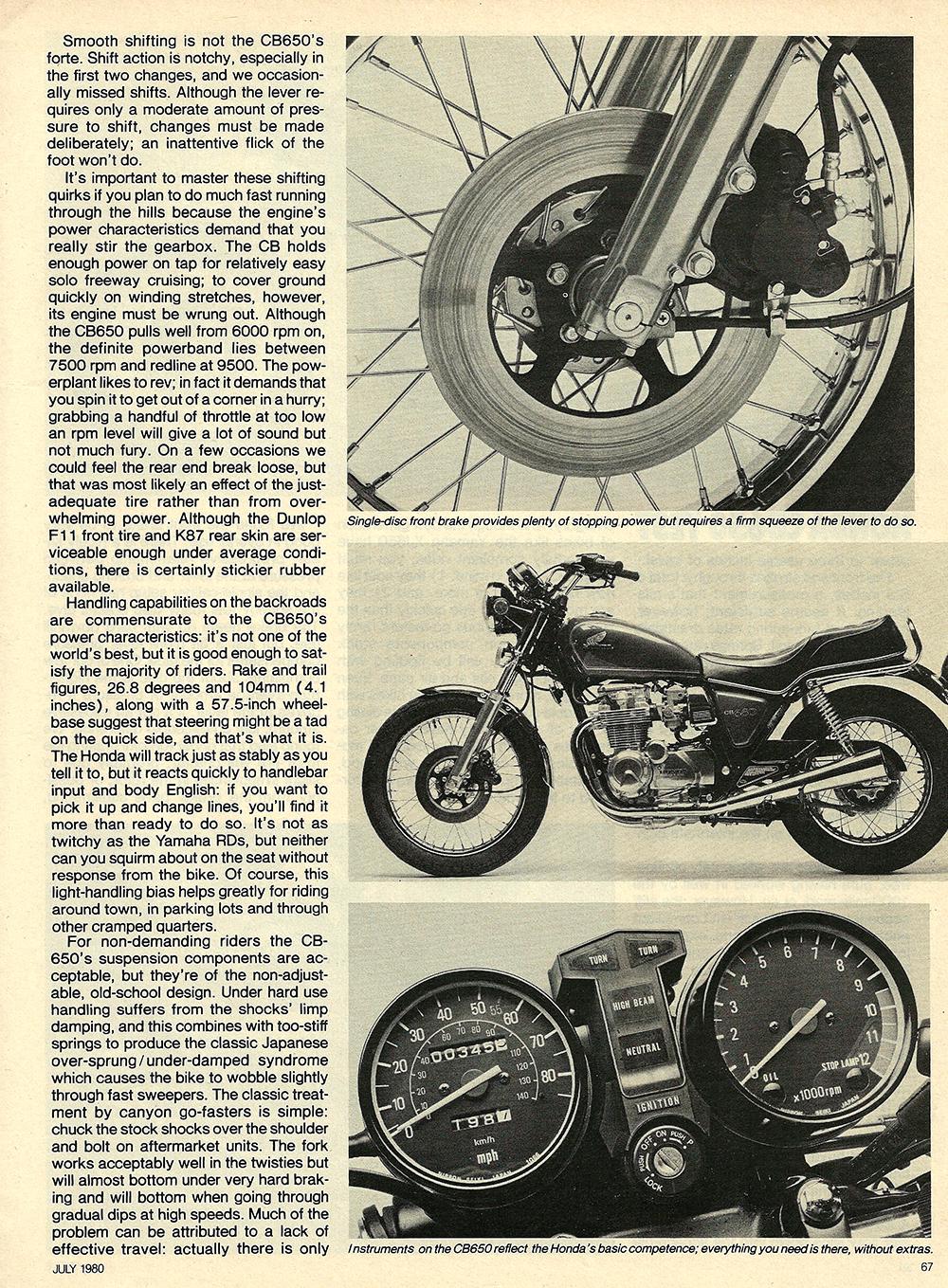 1980 Honda CB650 road test 04.jpg
